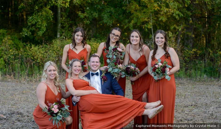 Cole and Bailey's wedding in Chatham-Kent, Ontario