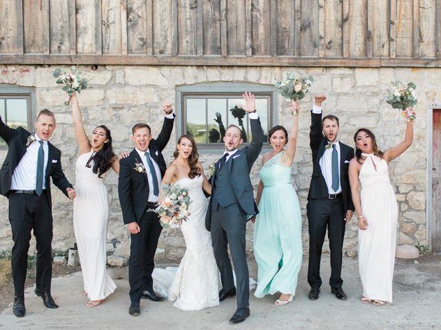 The wedding of Stephanie and Paul