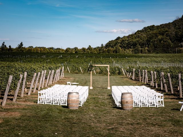 Kyle and Steff's wedding in Beamsville, Ontario 6