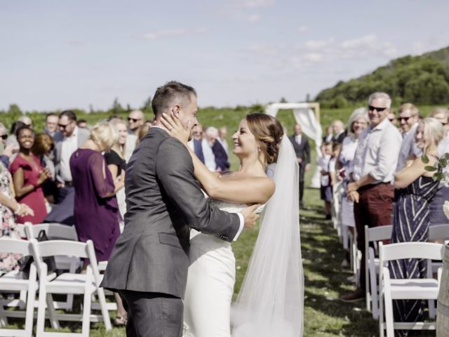 Kyle and Steff's wedding in Beamsville, Ontario 12