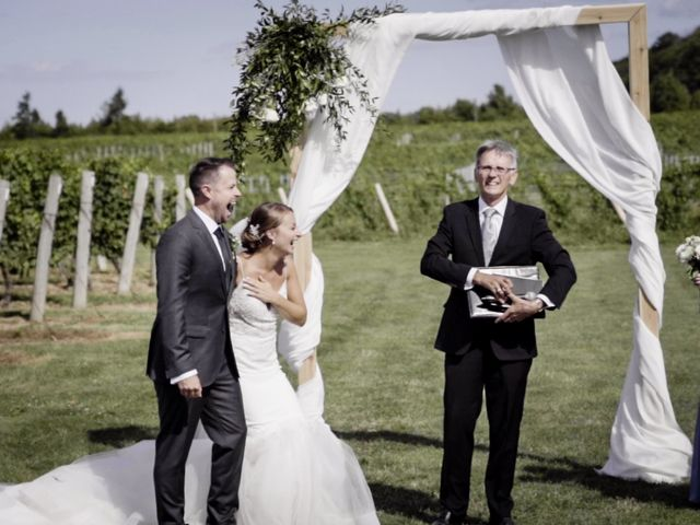 Kyle and Steff's wedding in Beamsville, Ontario 3