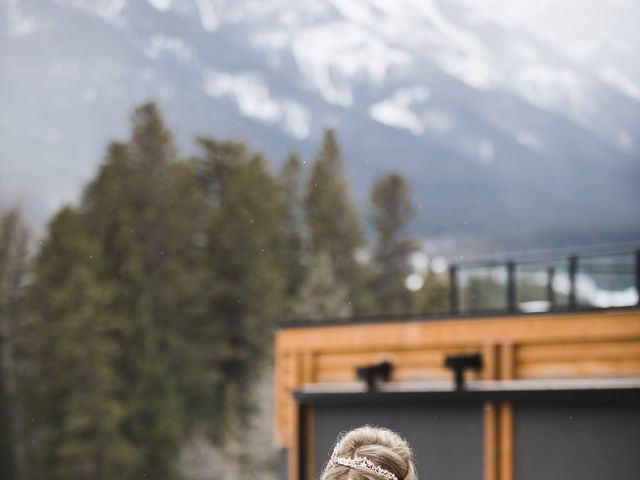 Shawn and Kaley's wedding in Canmore, Alberta 13