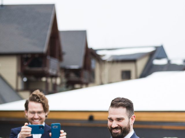 Shawn and Kaley's wedding in Canmore, Alberta 16