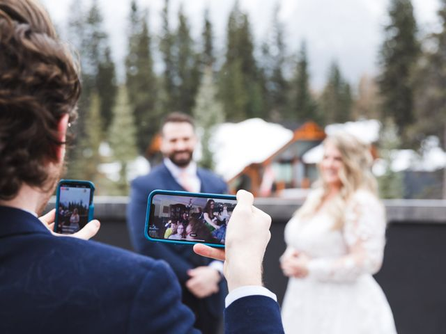 Shawn and Kaley's wedding in Canmore, Alberta 20