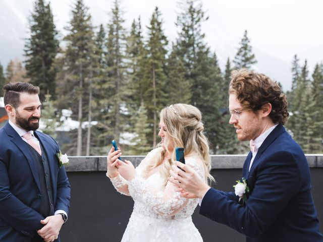 Shawn and Kaley's wedding in Canmore, Alberta 21