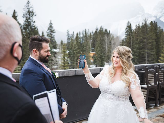 Shawn and Kaley's wedding in Canmore, Alberta 22