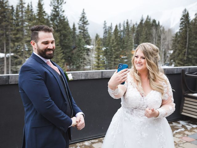 Shawn and Kaley's wedding in Canmore, Alberta 23