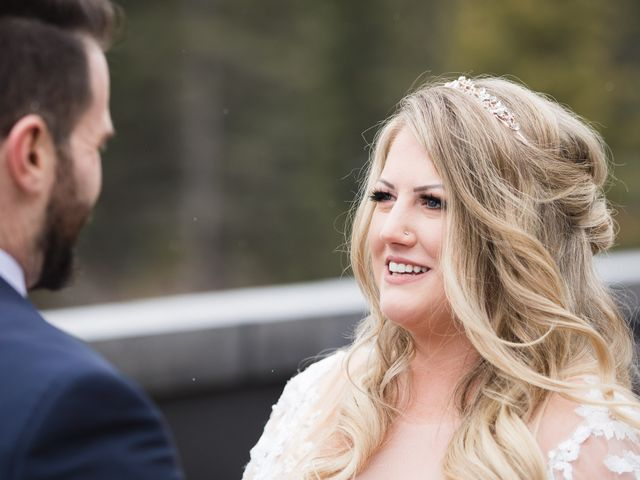 Shawn and Kaley's wedding in Canmore, Alberta 24