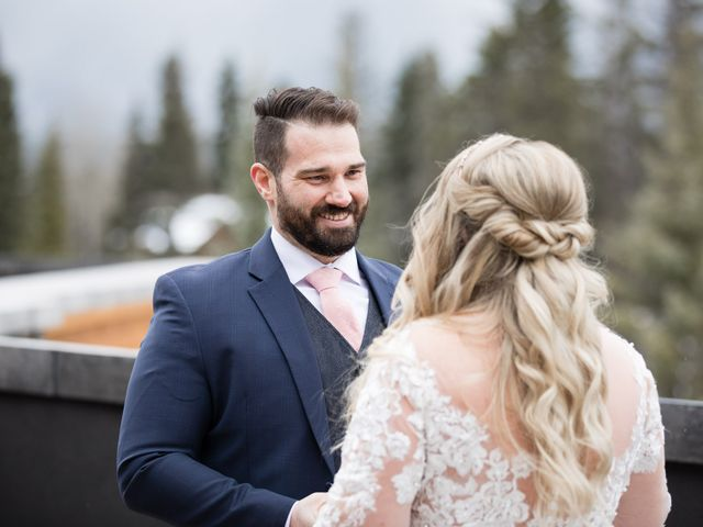 Shawn and Kaley's wedding in Canmore, Alberta 25