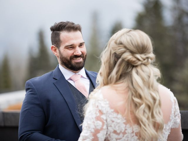 Shawn and Kaley's wedding in Canmore, Alberta 26
