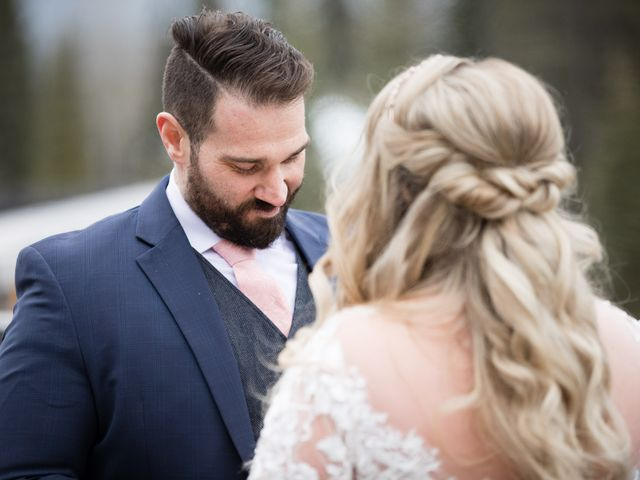 Shawn and Kaley's wedding in Canmore, Alberta 27