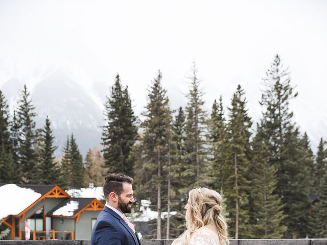 Shawn and Kaley's wedding in Canmore, Alberta 28