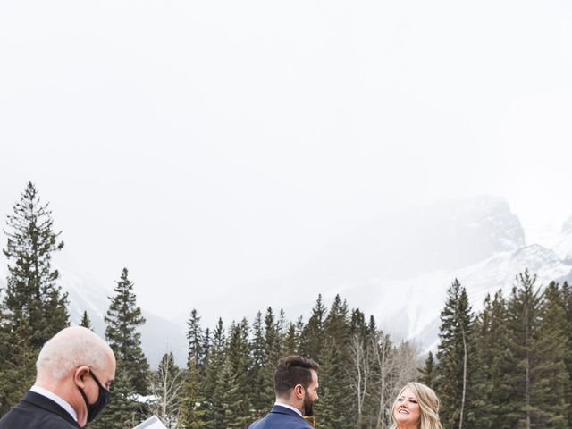 Shawn and Kaley's wedding in Canmore, Alberta 29