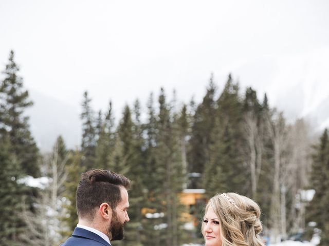 Shawn and Kaley's wedding in Canmore, Alberta 31