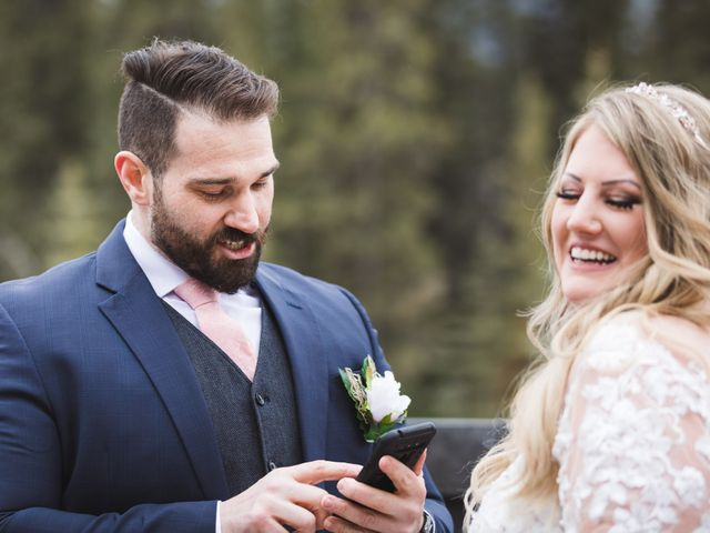 Shawn and Kaley's wedding in Canmore, Alberta 33
