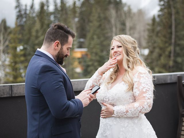 Shawn and Kaley's wedding in Canmore, Alberta 34