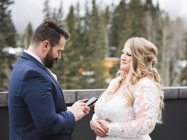 Shawn and Kaley's wedding in Canmore, Alberta 35