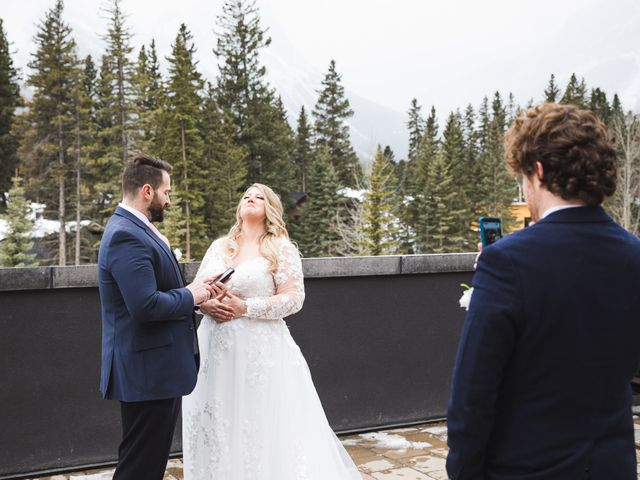 Shawn and Kaley's wedding in Canmore, Alberta 37