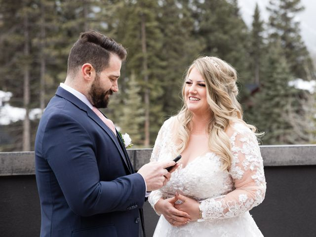 Shawn and Kaley's wedding in Canmore, Alberta 38