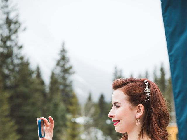 Shawn and Kaley's wedding in Canmore, Alberta 39