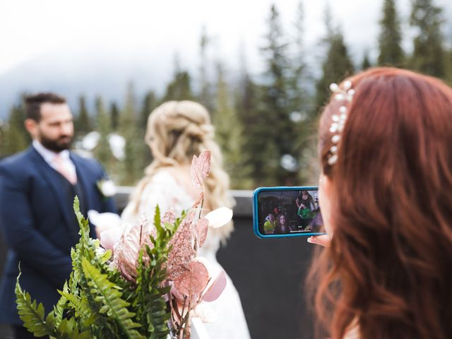 Shawn and Kaley's wedding in Canmore, Alberta 40