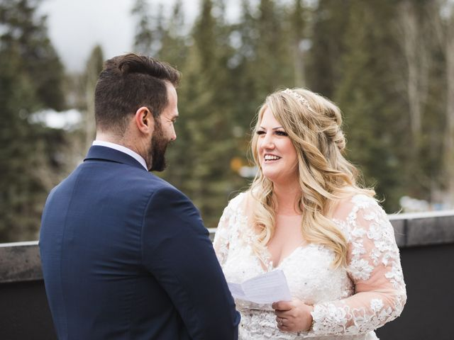 Shawn and Kaley's wedding in Canmore, Alberta 42