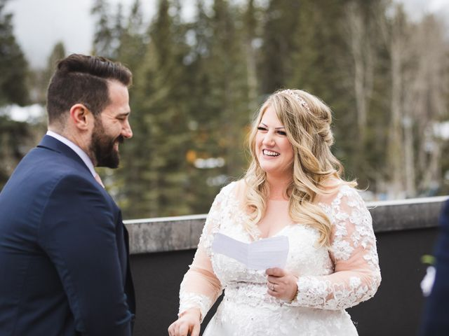 Shawn and Kaley's wedding in Canmore, Alberta 43