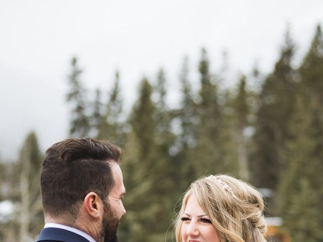 Shawn and Kaley's wedding in Canmore, Alberta 44