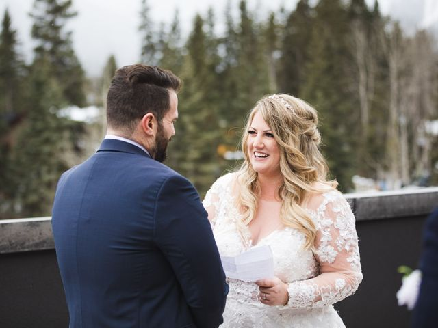 Shawn and Kaley's wedding in Canmore, Alberta 46