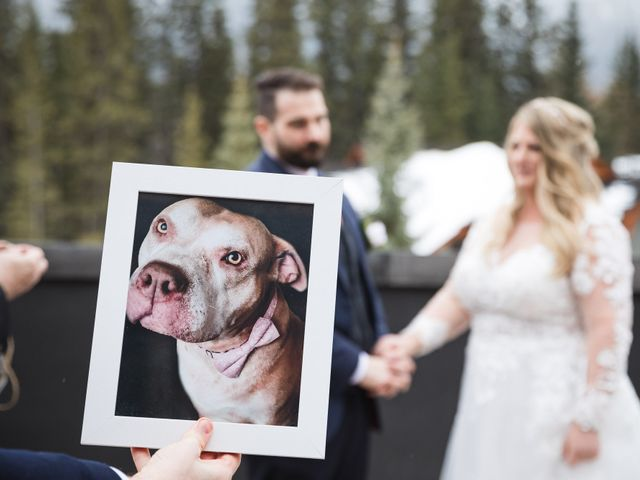Shawn and Kaley's wedding in Canmore, Alberta 48