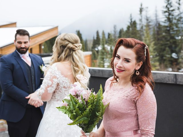 Shawn and Kaley's wedding in Canmore, Alberta 49