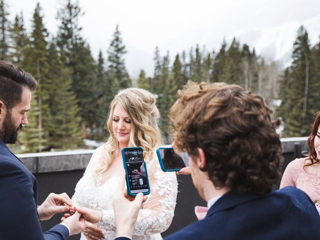 Shawn and Kaley's wedding in Canmore, Alberta 50