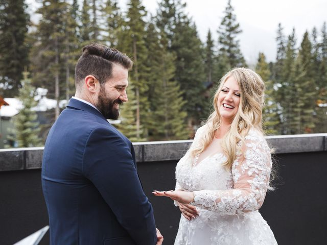 Shawn and Kaley's wedding in Canmore, Alberta 52