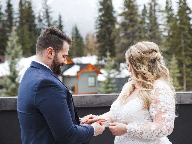 Shawn and Kaley's wedding in Canmore, Alberta 54