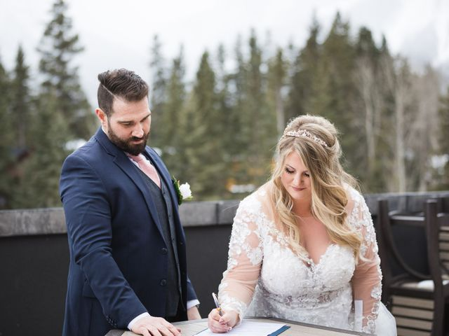 Shawn and Kaley's wedding in Canmore, Alberta 55