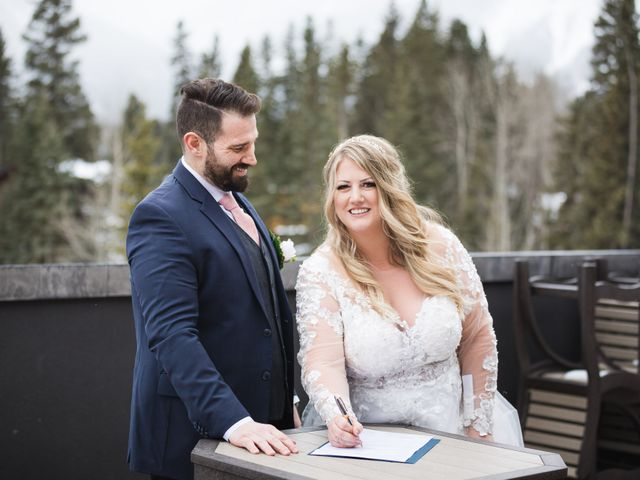Shawn and Kaley's wedding in Canmore, Alberta 57