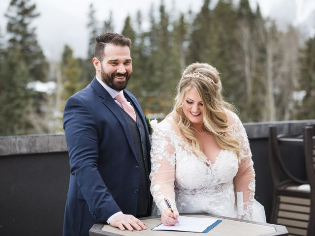 Shawn and Kaley's wedding in Canmore, Alberta 58