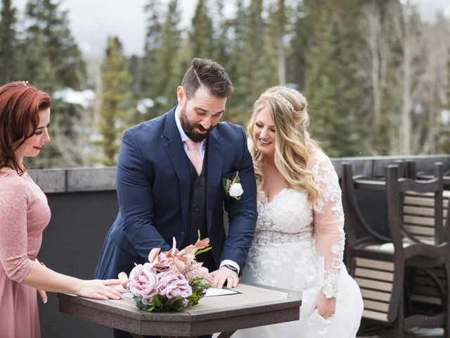 Shawn and Kaley's wedding in Canmore, Alberta 59