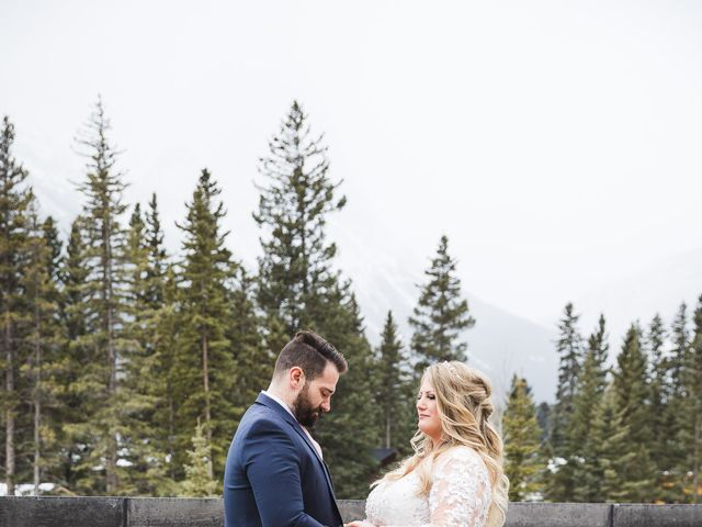 Shawn and Kaley's wedding in Canmore, Alberta 62