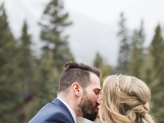 Shawn and Kaley's wedding in Canmore, Alberta 63