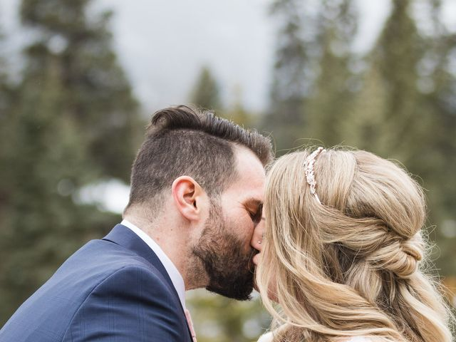 Shawn and Kaley's wedding in Canmore, Alberta 64