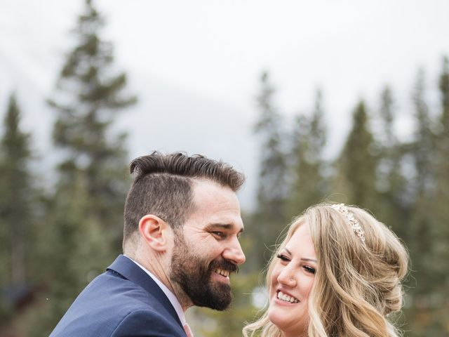 Shawn and Kaley's wedding in Canmore, Alberta 65