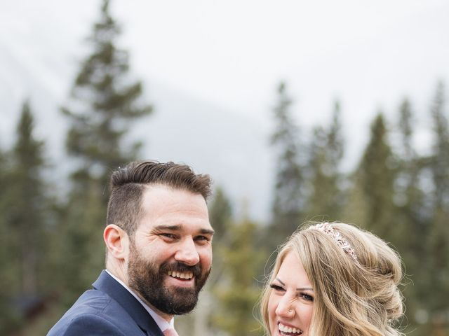 Shawn and Kaley's wedding in Canmore, Alberta 66