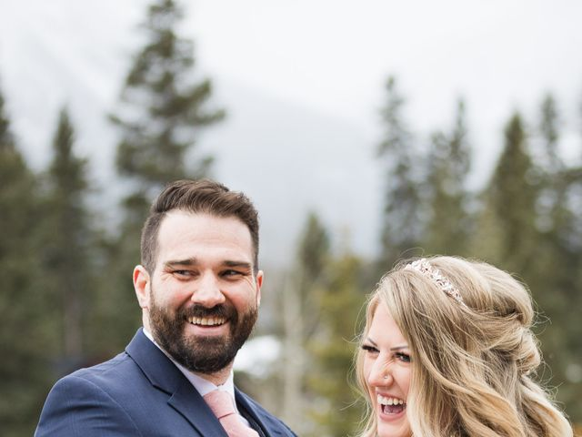 Shawn and Kaley's wedding in Canmore, Alberta 67
