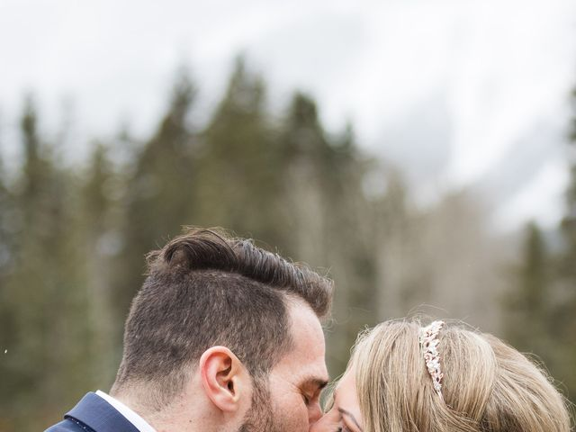 Shawn and Kaley's wedding in Canmore, Alberta 68