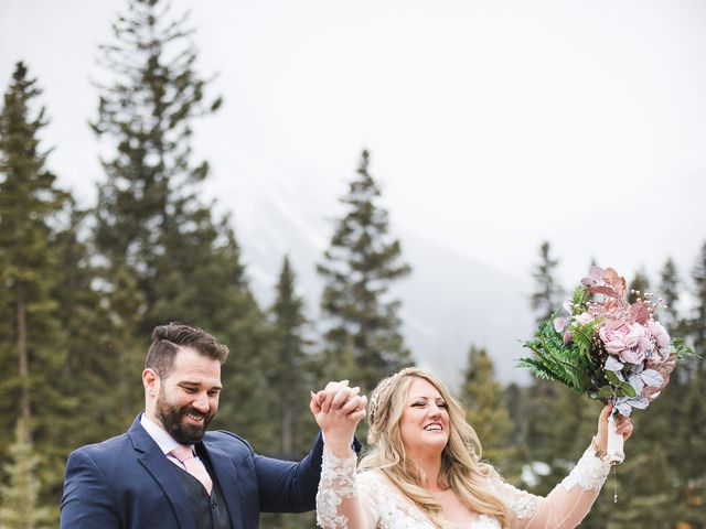 Shawn and Kaley's wedding in Canmore, Alberta 69
