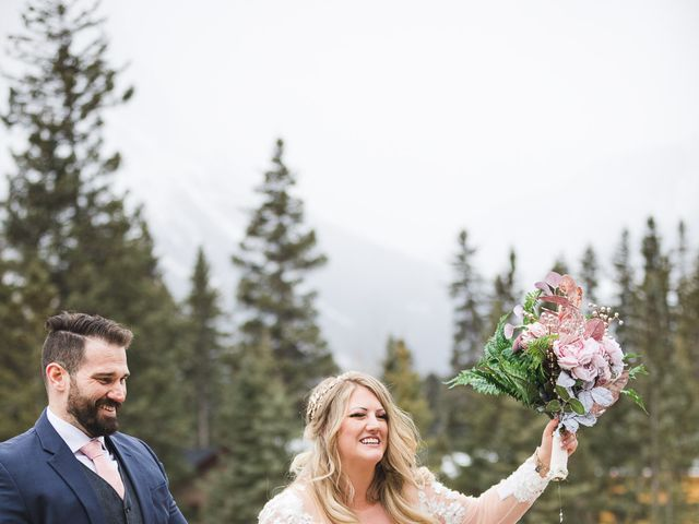 Shawn and Kaley's wedding in Canmore, Alberta 70