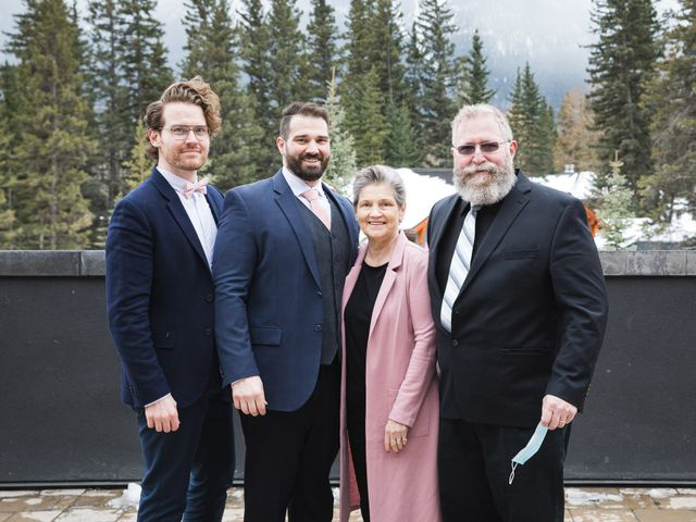 Shawn and Kaley's wedding in Canmore, Alberta 72