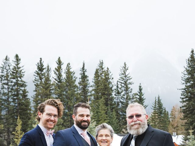 Shawn and Kaley's wedding in Canmore, Alberta 74