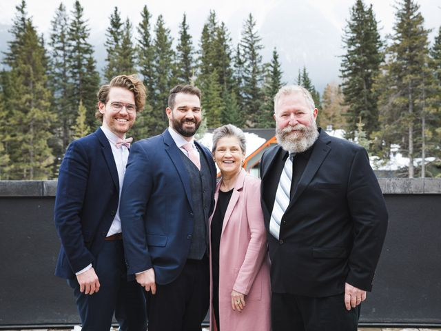 Shawn and Kaley's wedding in Canmore, Alberta 75